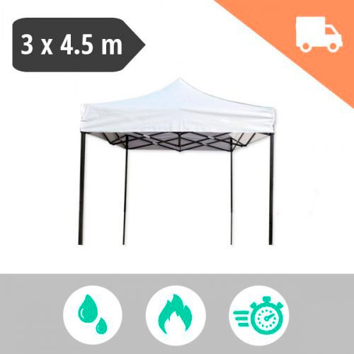 Carpa plegable 3x4.5 metros