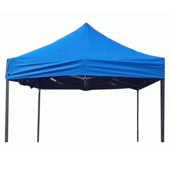 Carpa plegable 3x6 metros azul