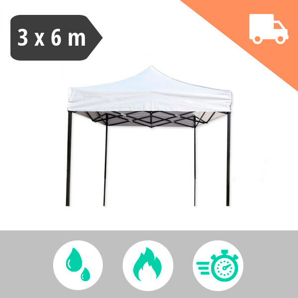 Carpa plegable 3x6 metros